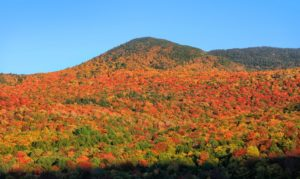 Vermont mountains spectacular fall foliage