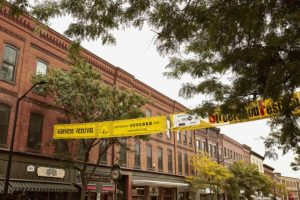 Strolling the historic downtown and shop one of the fun things to do in Brattleboro VT