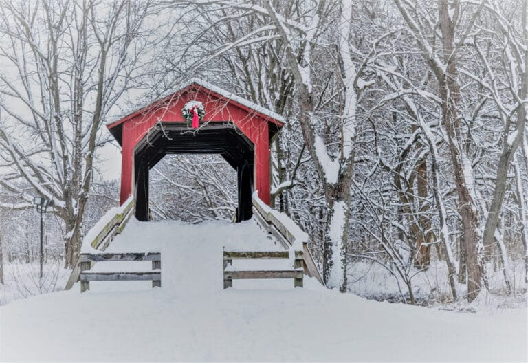 See covered bridges and stunning winter landscapes during your winter getaway to our Vermont Bed and Breakfast